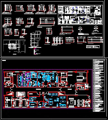 industrial kitchen facilities  dwg plan  autocad designs cad
