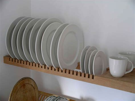 kitchen plate storage kitchen plate rack is an extension of the solid beech