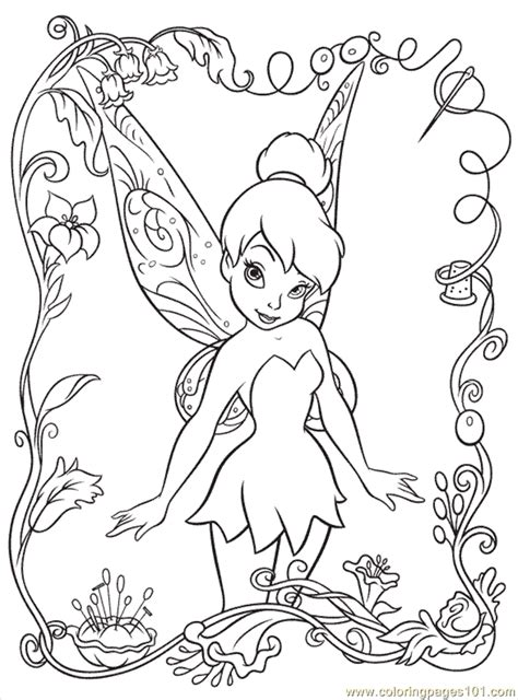 coloring pages disney fairy6 cartoons gt disney fairies