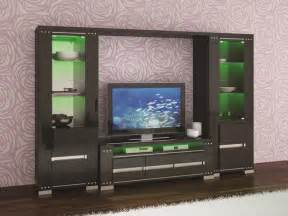 Dining Room Display Cabinets Uk - exquisite white high gloss tv wall unit with led lights
