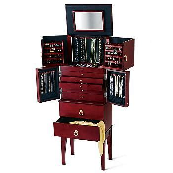 anti tarnish jewelry armoire pin by ross simons jewelry on jewelry boxes pinterest