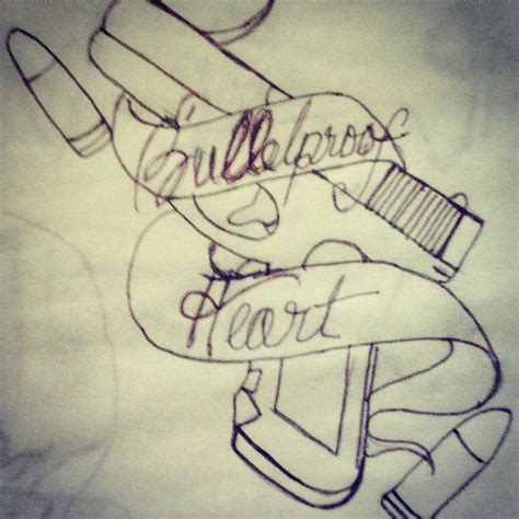 bulletproof tattoo bulletproof sketch by anjaabsinthe on deviantart