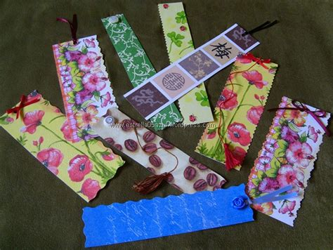 Handmade Bookmark Designs - handmade bookmarks s a stage webblog
