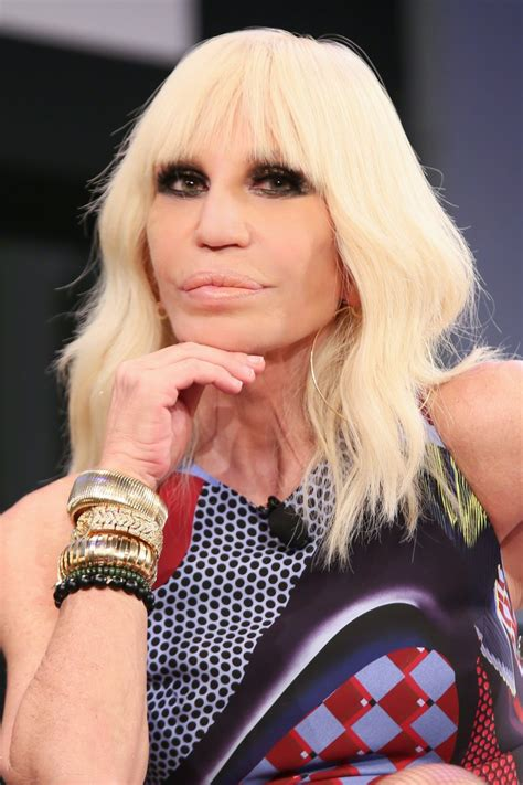 Donatella Versace by Donatella Versace Touts New Book Daily Front Row