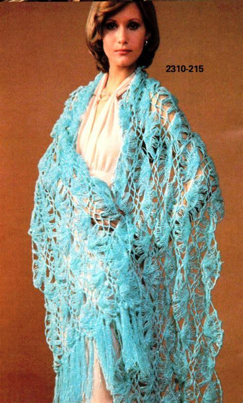 pattern crochet lace shawl vintage hairpin lace crochet shawl pattern instant digital