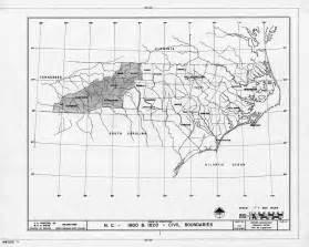 1800 1820 carolina map with county boundaries