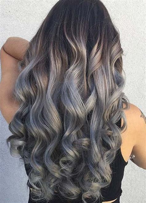 dye bottom hair tips still in style 85 silver hair color ideas and tips for dyeing