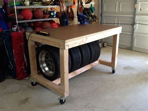 garage benches and storage best 25 rolling workbench ideas on pinterest
