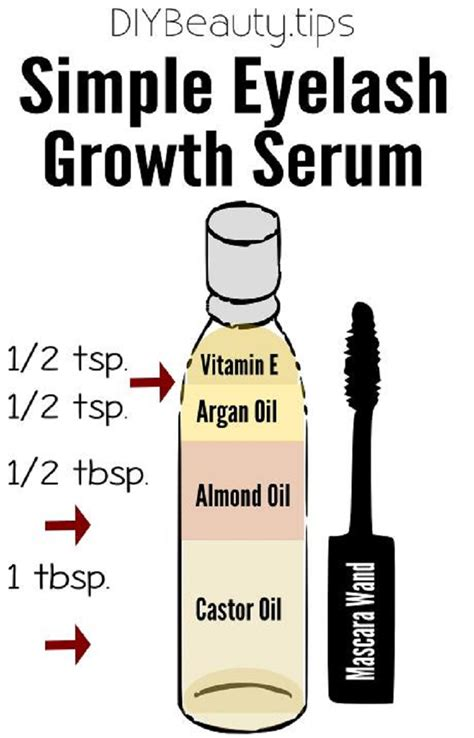 diy eyelash growth serum 16 must diy recipes to keep you beautiful all