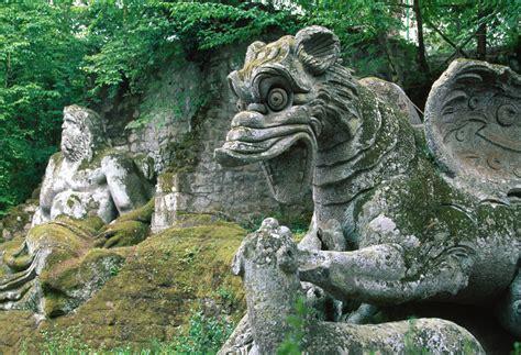 giardino di bomarzo bomarzo e il parco dei mostri il sacro bosco vicino