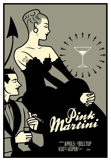 pink martini poster scrojo pink martini belly up aspen aspen co poster