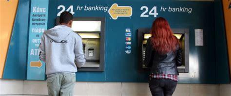 le banche sono aperte il sabato mattina i primi problemi con il salvataggio di cipro il post