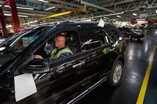 Ford Chicago Assembly Plant Ford Chicago Assembly Plant Celebrates 2011 Ford Explorer