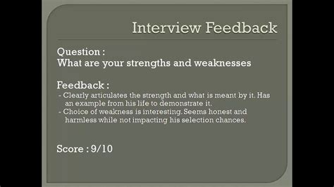 strengths and weaknesses fresher