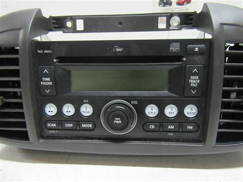 nissan micra vin number nissan micra radio factorycd player mp3 player k12 08