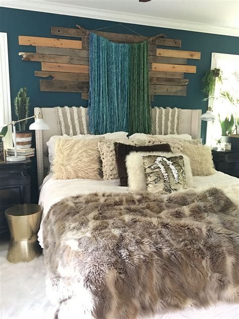 boho glam bedroom  blissfully eclectic ocean abyss
