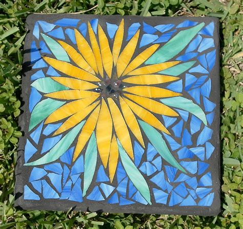 pattern for making mosaic creating mosaic stepping stones in your garden