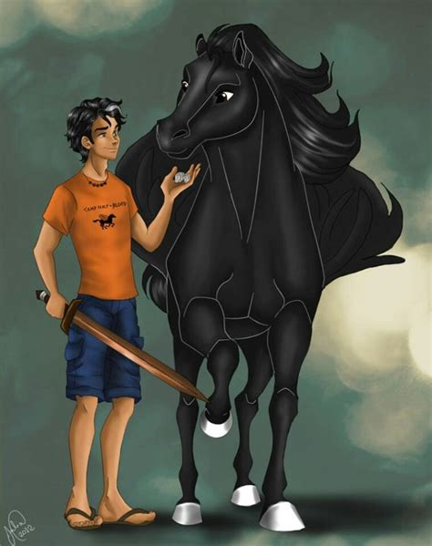 percy and blackjack percy jackson and the heroes of olympus