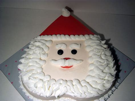 learn to create this simple santa cake learn cake