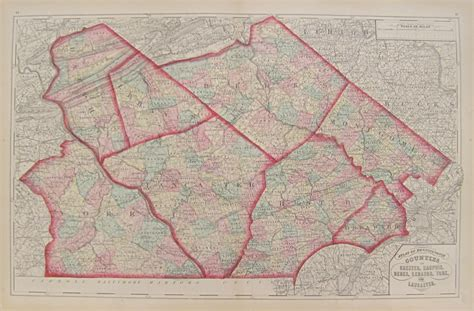 Montour County Pa Property Records Antique Maps Of Pennsylvania Counties