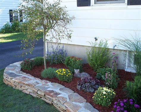 flower beds around house xeriscape beds download raised flower beds in front of
