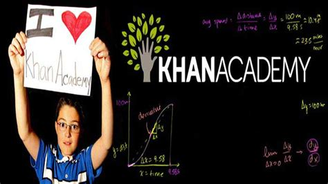 Khan Academy Learn Anything You Want Free With Library Of Videos Iphone Ipad Web Khan Academy Website Template