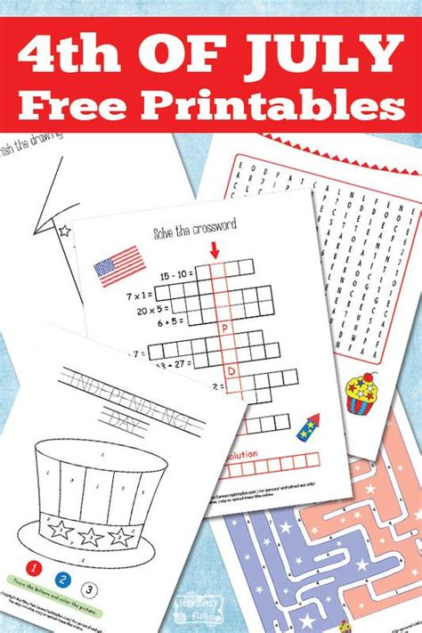 printable 4th of july games 156 best images about fourth of july on pinterest