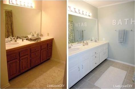 painting bathroom tiles before and after fun paint remodeling ideas for your home