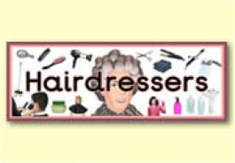 hairdressing games primary hairdressers role play resources primary treasure chest