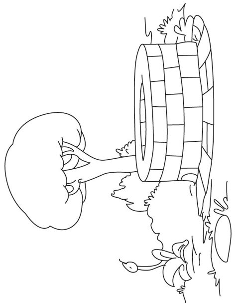 coloring page water well water well coloring pages