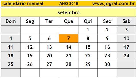 indice igpm setembro de 2016 calend 225 rio mensal setembro de 2016 imprimir m 234 s de