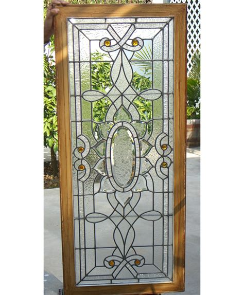 Bathroom Door Designs victorian beveled oval and petals with many borders