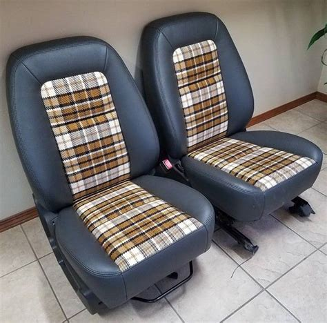 beautiful upholstery work   bucket seats