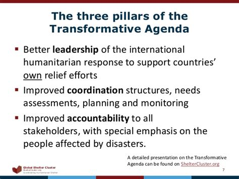 the coveted leader 5 pillars of transformative leadership books how international aid is coordinated the cluster approach
