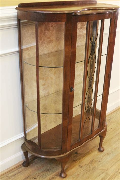 deco china cabinet for sale vintage deco curio china cabinet 1920 s