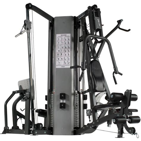 h 4400 4 stack multi hoist fitness