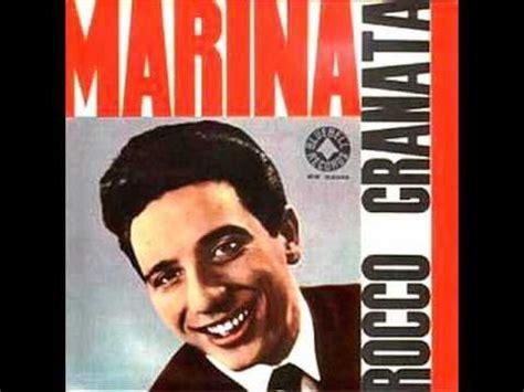 testo canzone marina granata marina lyrics