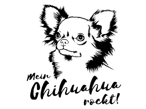 Aufkleber Auto Hunderassen by Hunderasse Aufkleber Chihuahua Aufkleber Tafeln