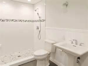 White Tile Bathroom Design Ideas by White Tile Floor Bathroom Ideas Amazing Tile