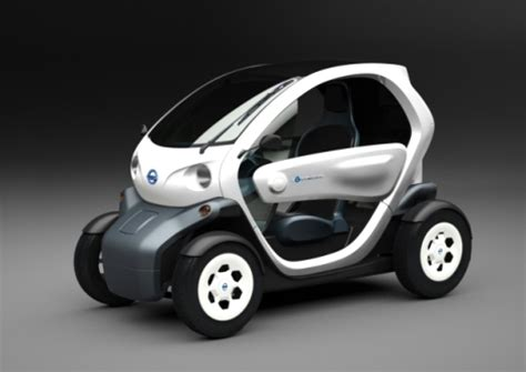 Two Seater Electric Car by Nissan New Mobility Concept 2 Seater Electric Car Ubergizmo