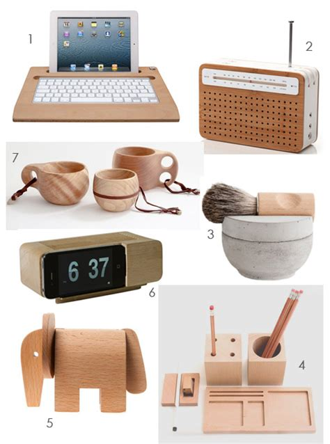 gift ideas  wood lovers  style files
