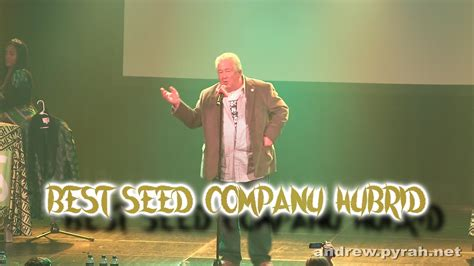 best seed company best seed company hybrid amsterdam cup award