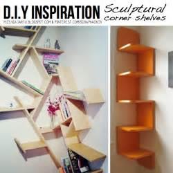 Clever Shelf Ideas Diy Ingenious Corner Shelves Ideas