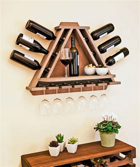 Wine Hanger Rack by Clever Ways Of Adding Wine Glass Racks To Your Home S D 233 Cor