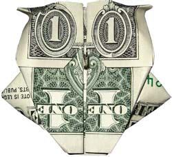 Imitation Origami Owl - owl dollar bills and bill o brien on