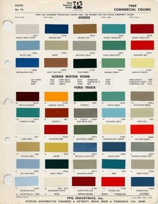 1966 mustang colors 1966 ford mustang color chart pictures to pin on