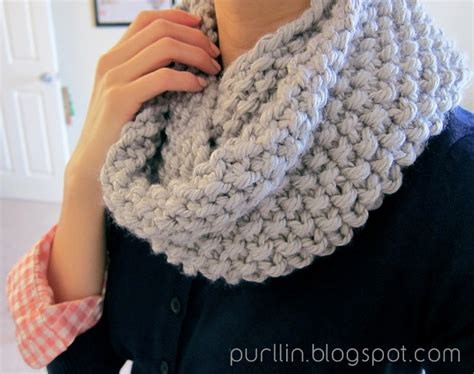 how to knit a baby scarf for beginners cozy seed stitch infinity scarf yarn fix