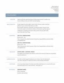 Resume Templates For Your Using Professional Resume Templateto Create Your Own Writing Resume Sle