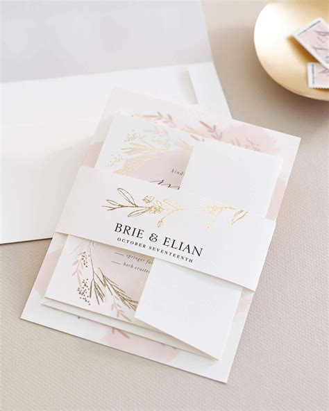 Assembling Wedding Invitations   Minted