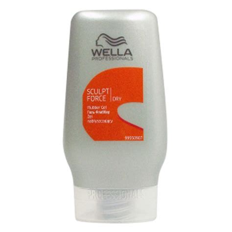 styling gel dry look wella professionals dry sculpt force flubber gel 125ml